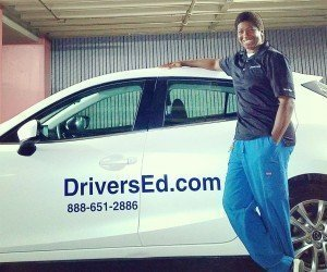 DriversEd.com instructor Africa Ishodi says teaching new drivers is all about adapting to different students and their learning styles