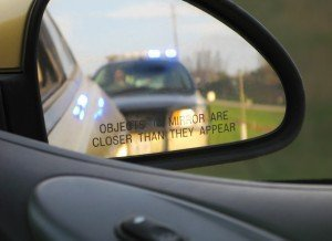 pulled over by officer