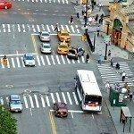 city traffic pedestrians crosswalks