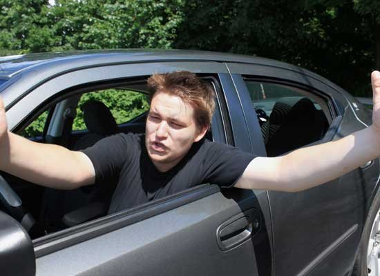 worst driving habits that incite road rage