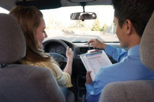 On the way to a drivers license: taking the driving test