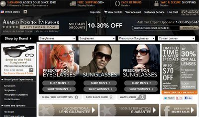 Armed Forces Eyewear introduces a new look.