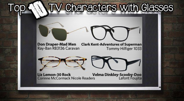 Top 10 TV Characters with Glasses