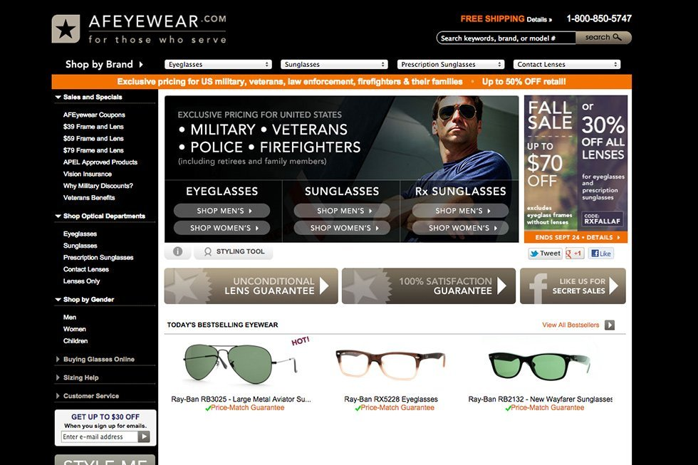 e86fdc97f3 Armed Forces Eyewear Launches a New Look to Honor the American Military  Family