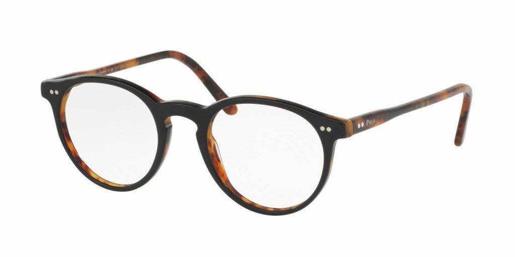 round plastic glasses