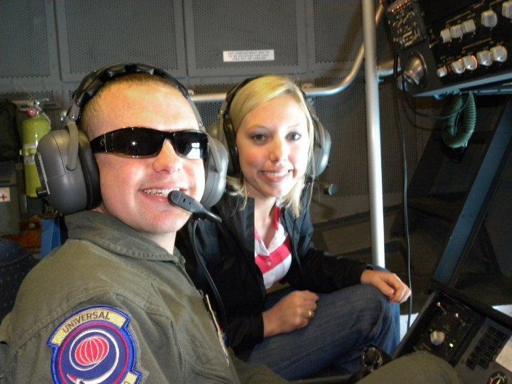 AFEyewear Employee with Air Force