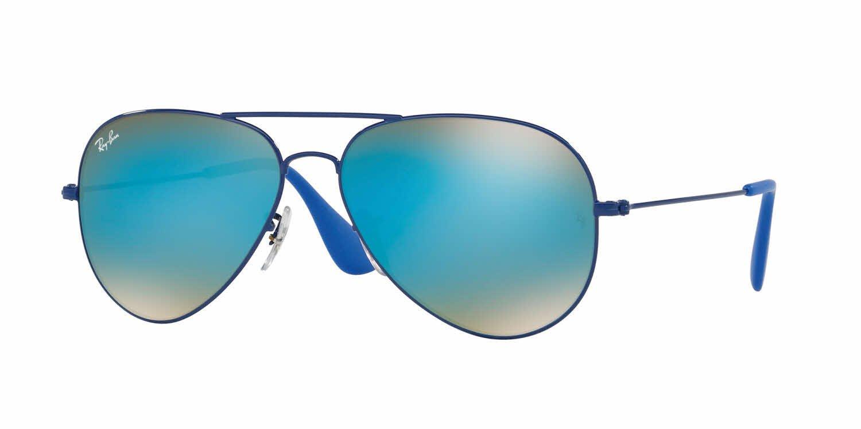 46d55e13e0a0 Ray-Ban RB3025 Large Metal Aviator Sunglasses