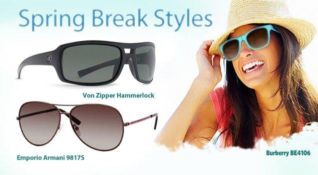 Hot Spring Break Sunglasses