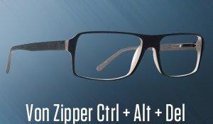 Von Zipper Ctrl + Alt + Del Eyeglasses
