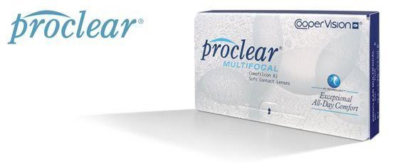 Proclear Multifocal Contact Lenses offer all day comfort and are great with goggles.
