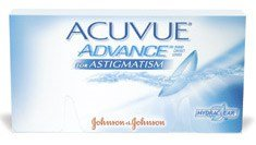 Acuvue Advance for Astigmatism is a popular choice for toric contacts.