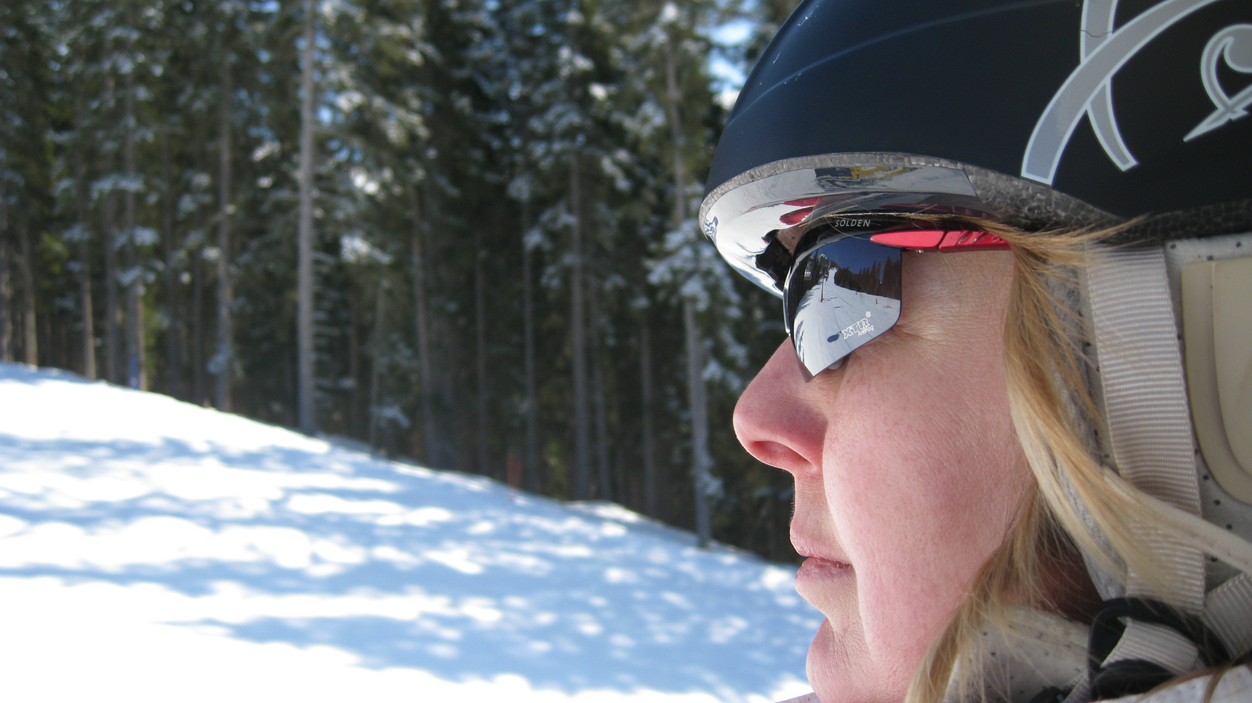 1ec1c229d06 When Should I Wear Sunglasses While Skiing or Snowboarding  While goggles  are generally a ...