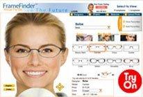 Try on eyeglasses frames online