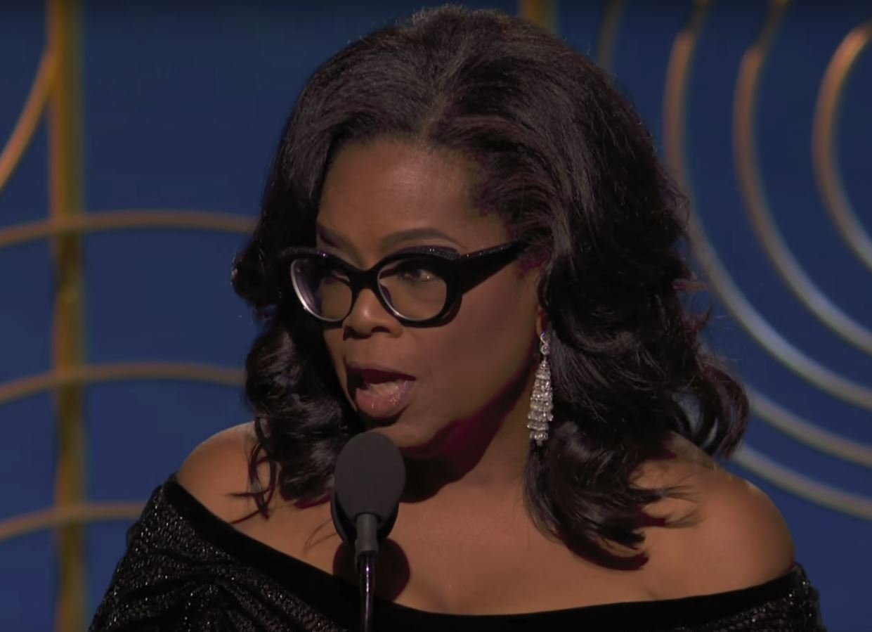 a50708e3fa0 Oprah s Golden Globes Moment  Stealing the Show in Cat-Eye Frames