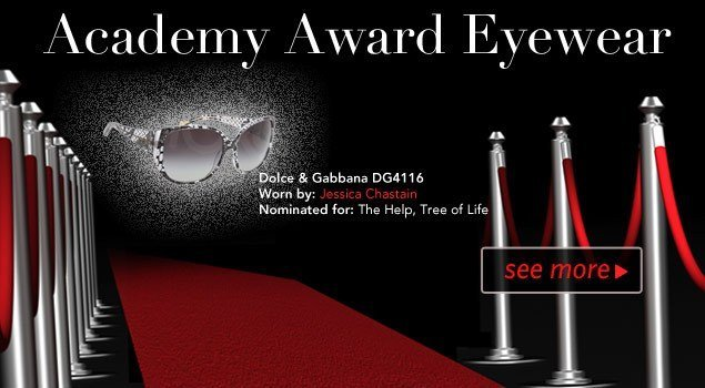 Academy Awards Nominee Eyewear Winners