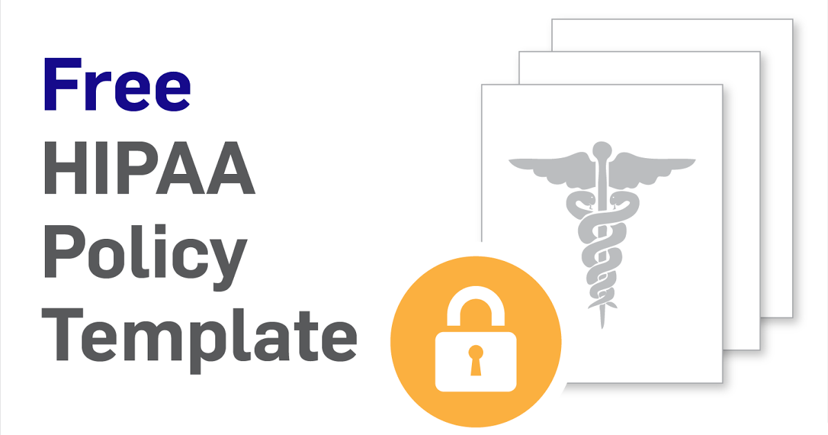 HIPAA Security Policy Free Download