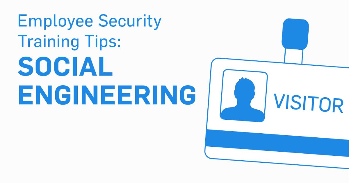 employee security training tips social engineering