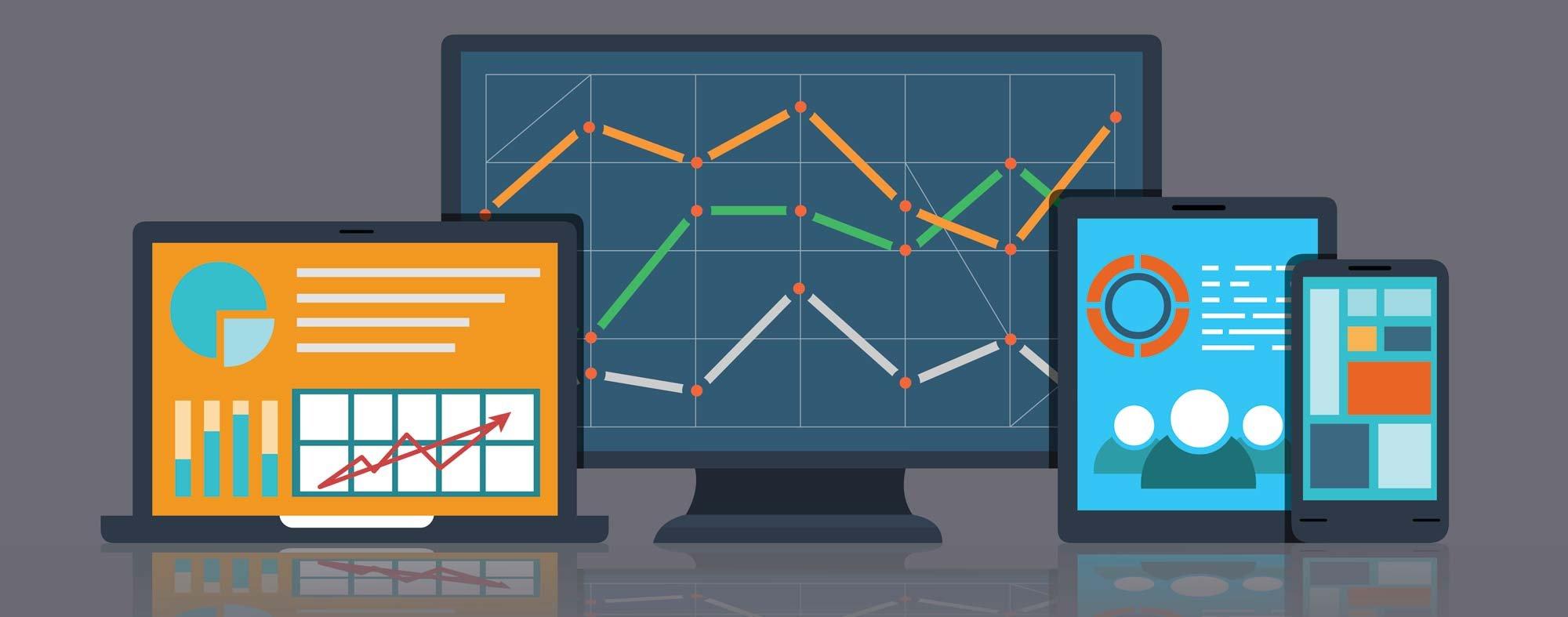 seo adwords data visualizations