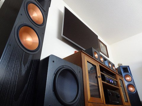 Big Subwoofer in a Home System
