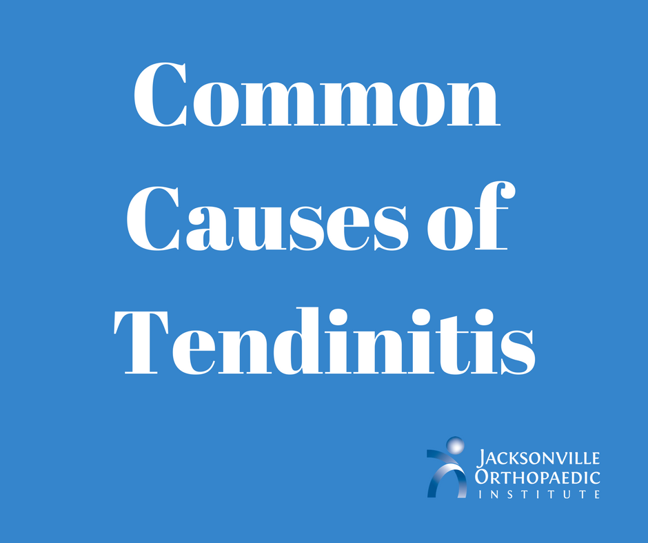 Common causes of tendinitis and how to avoid it.