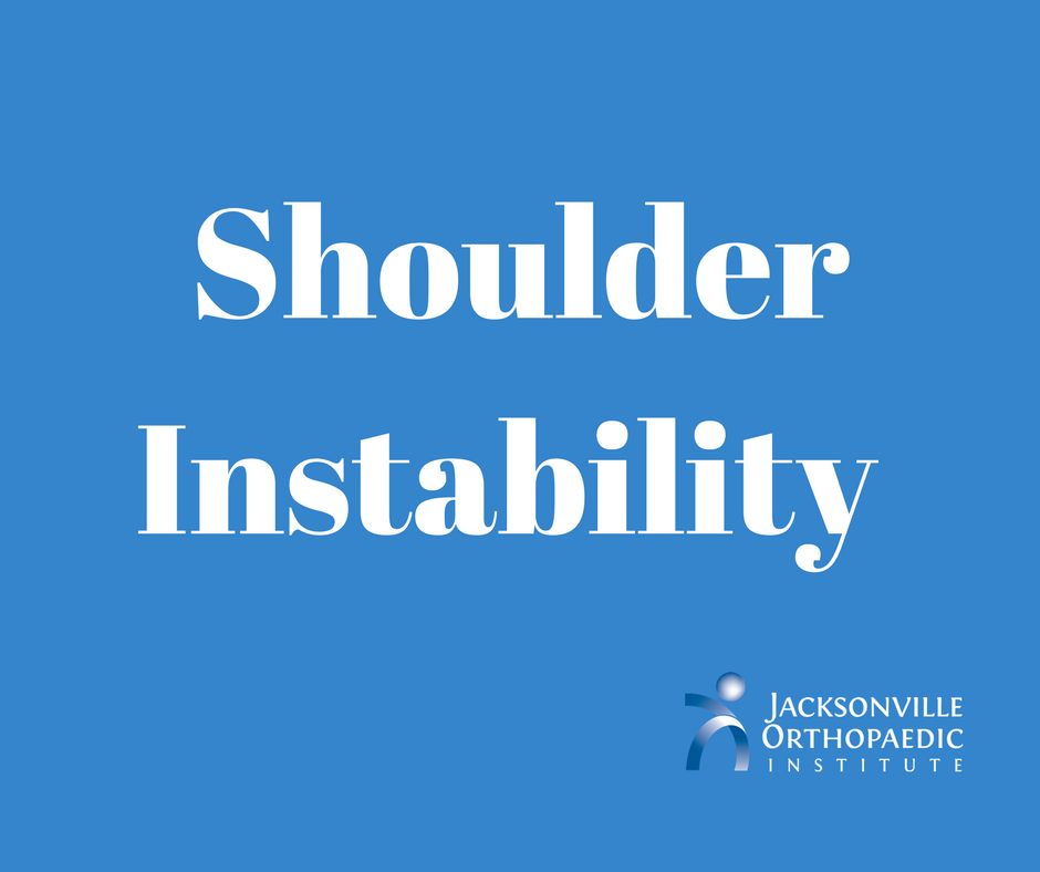shoulder instability JOI