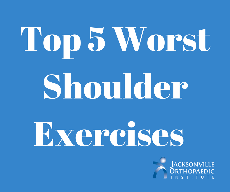Top 5 Worst Shoulder Exercises