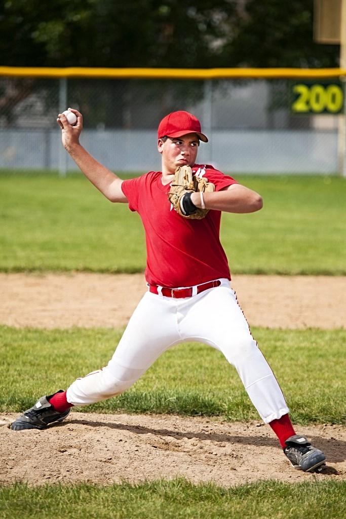 baseball pitcher throwing. JOI