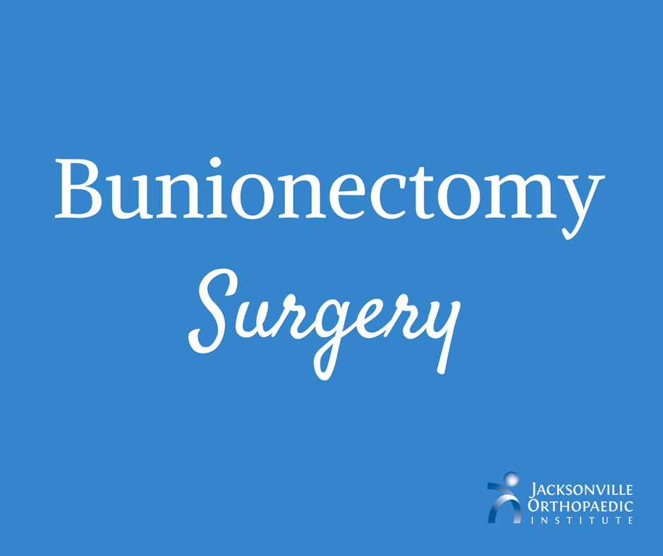 Bunionectomy Surgery