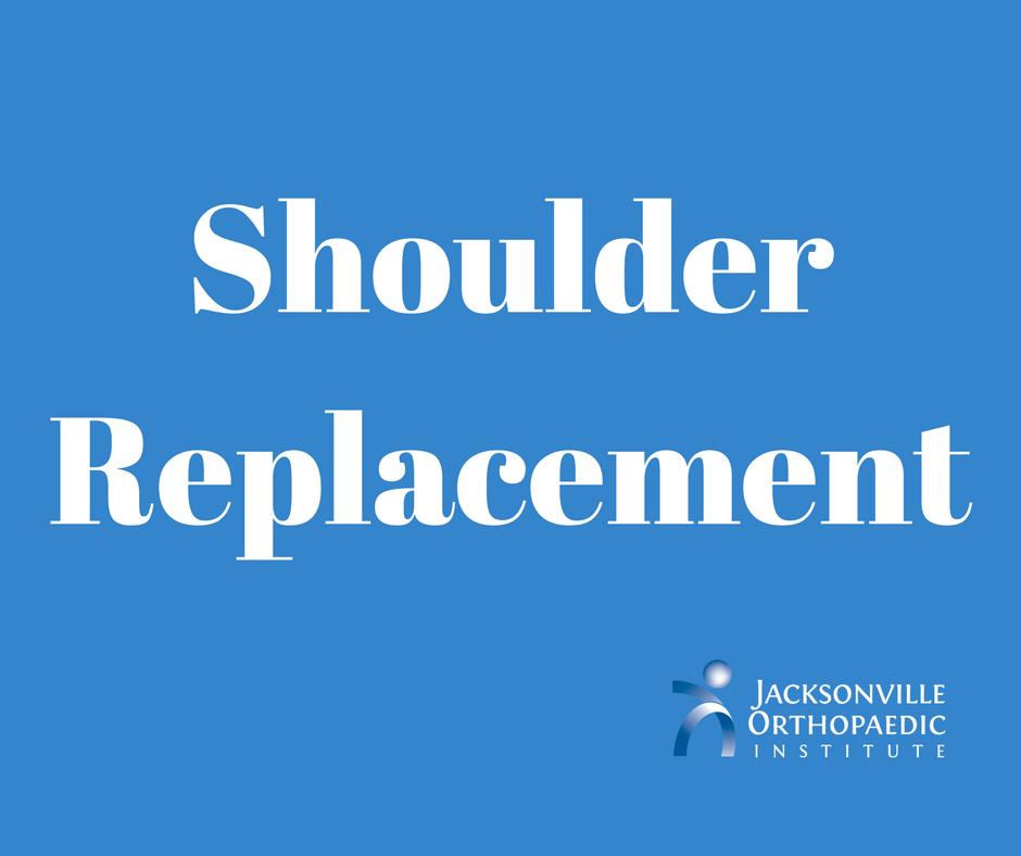 shoulder replacement JOI