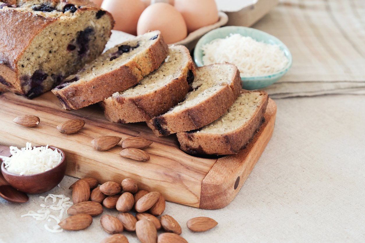 Low Carbohydrate Bread Recipe