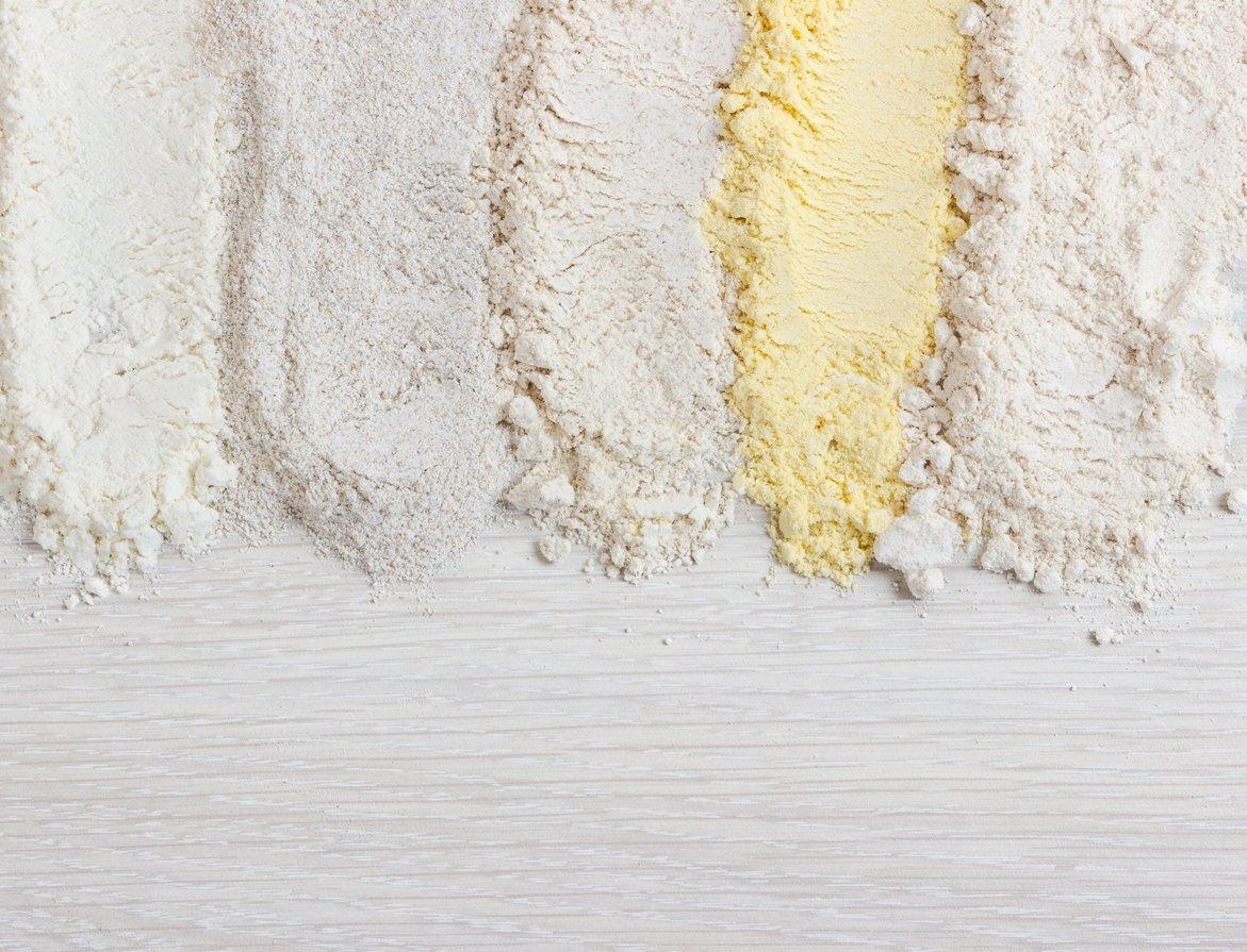 Bread flour vs all purpose flour