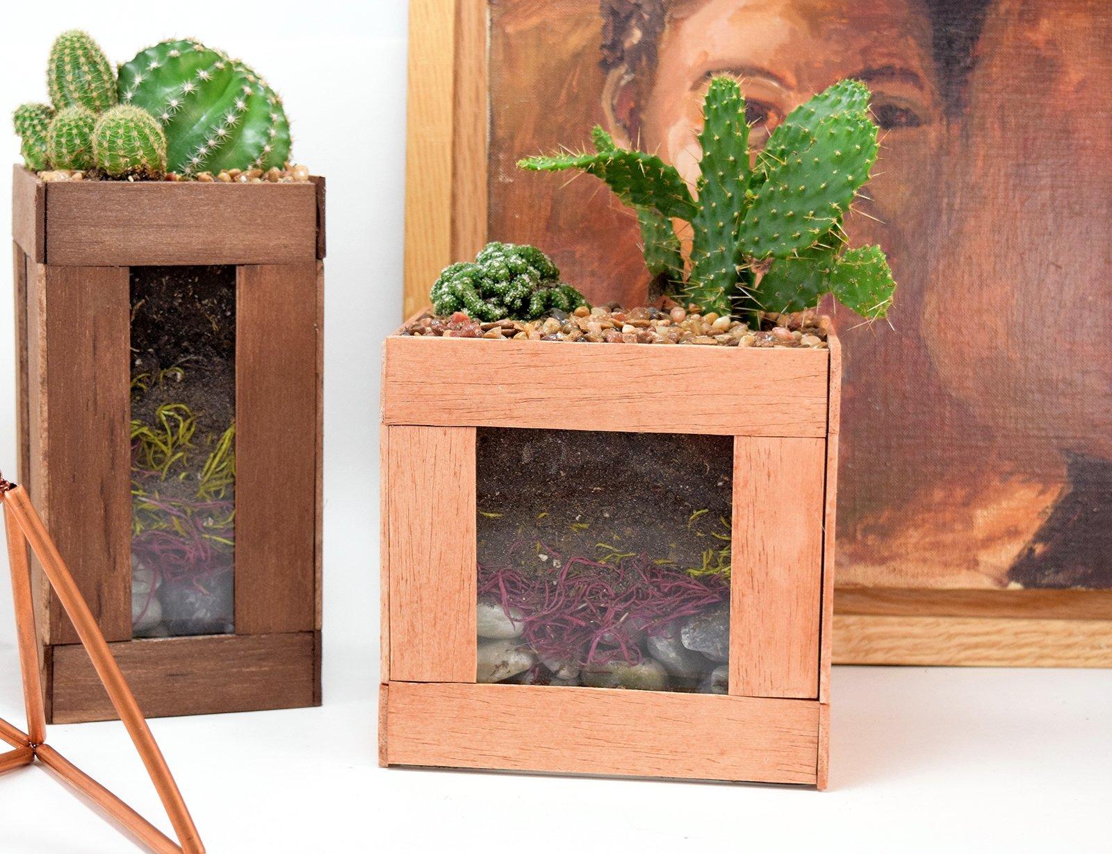 Summer Trend Diy Faux Succulent Amp Cactus Home D 233 Cor