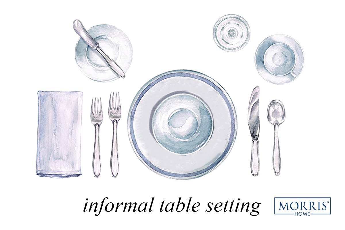 Entertaining etiquette: The 411 on proper table setting – Morris Home