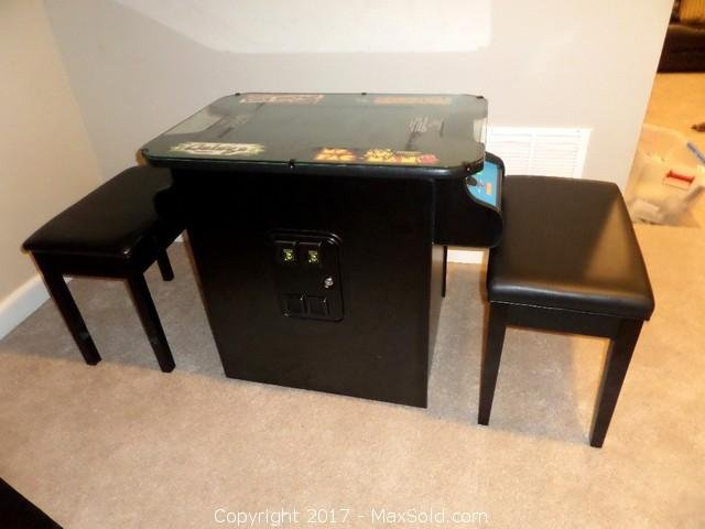 Multi Game Console Table