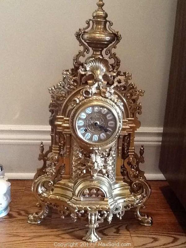 Imperial Bronze Clock