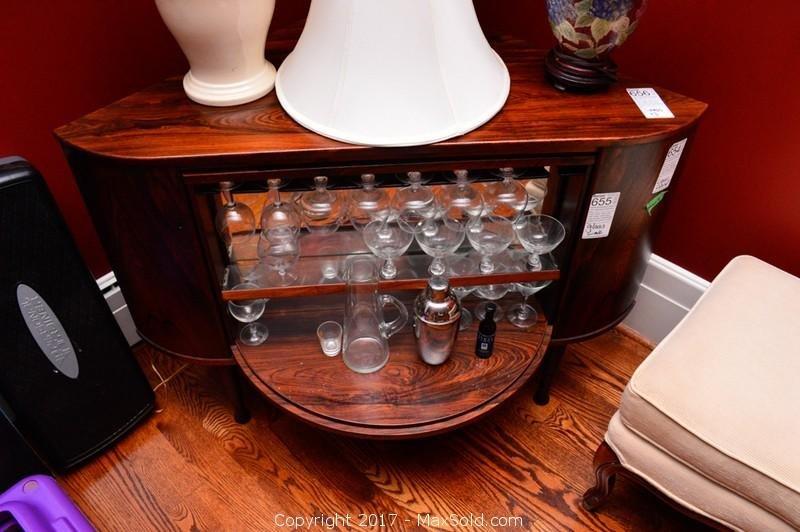 Georg Jensen Liquor Cabinet