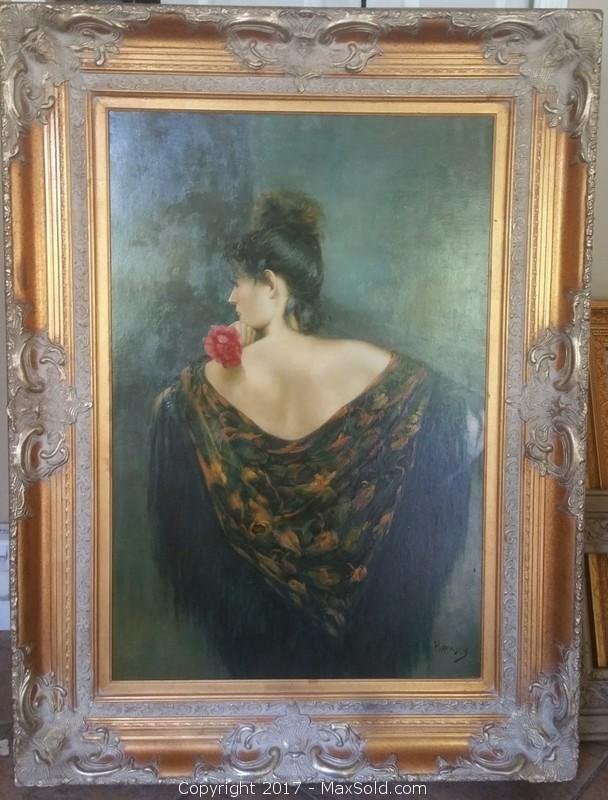 Original oil Painting by Listed artist Bransky