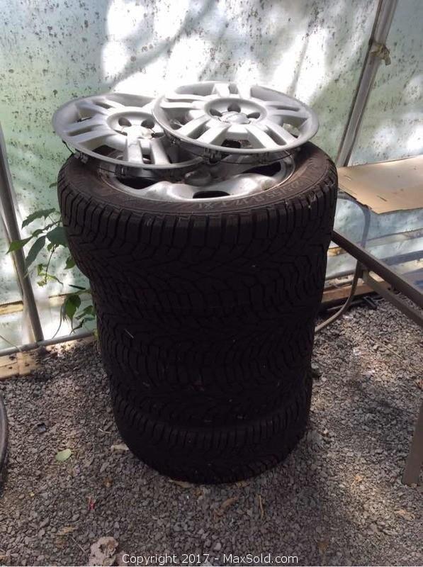 Subaru Winter Tires On Aluminum Rims