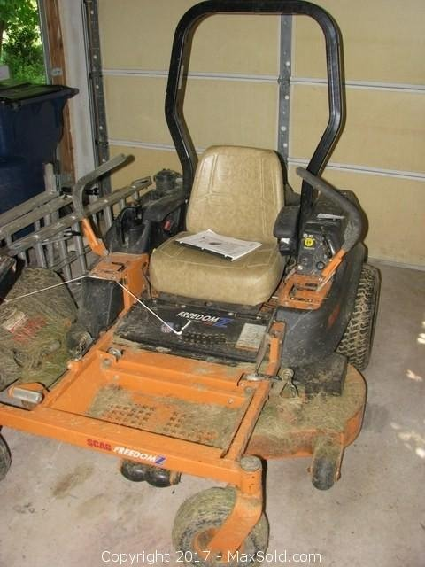 Scag Zero Turn Riding Mower