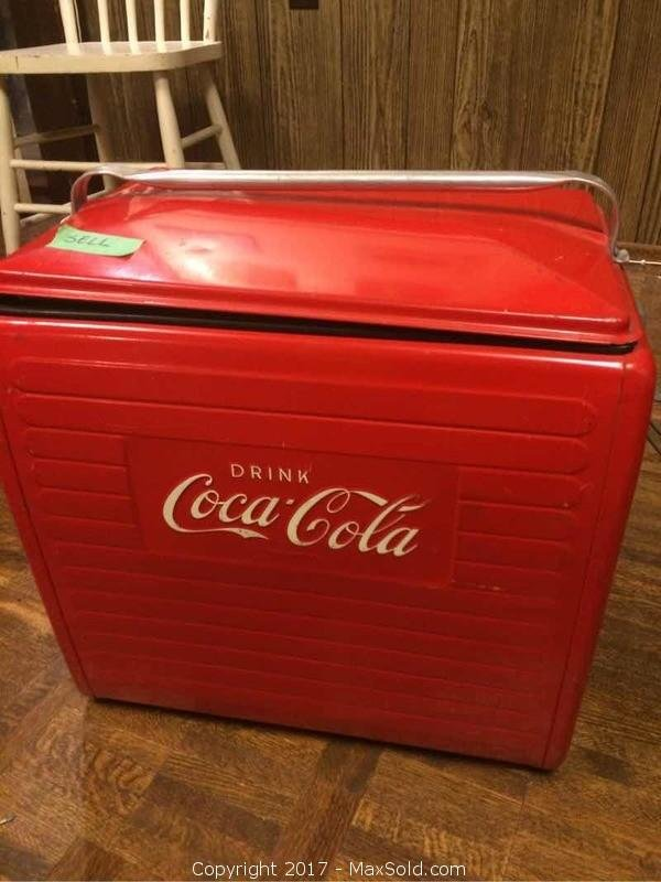 Original Vintage Cocaola Cooler