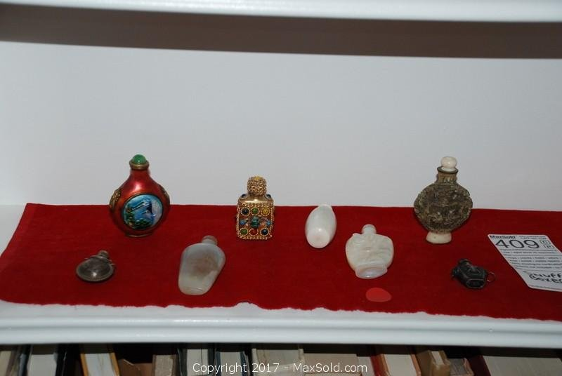 Snuff Bottle collection