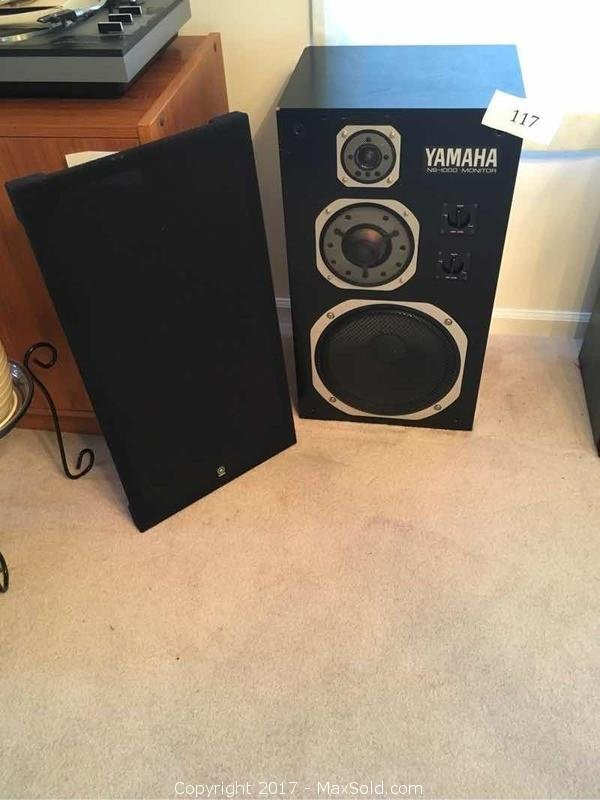 Yamaha Model NS 1000M Monitor Speaker
