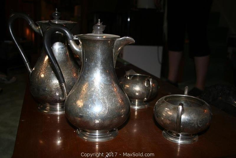 Sterling Silver Teapots And More
