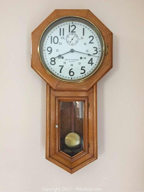 Original Canadian Pacific Railroad Station Clock