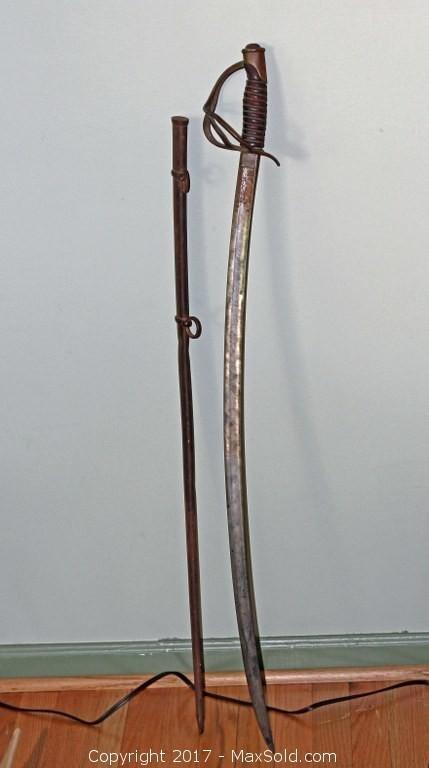 1866 Military Sword