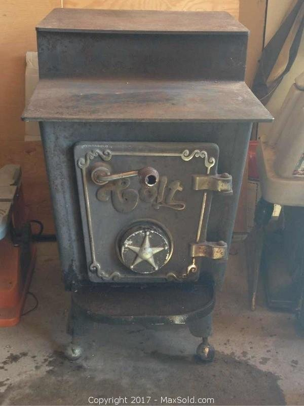 Antique Colt Cast Iron Stove/oven