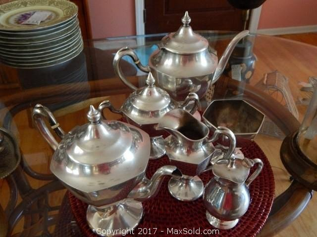 RB Sterling Tea And Coffee Set