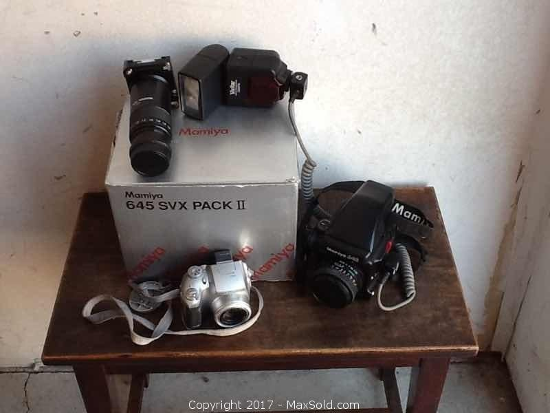 Camera Lot Mamiya 645 SVX Pack 2