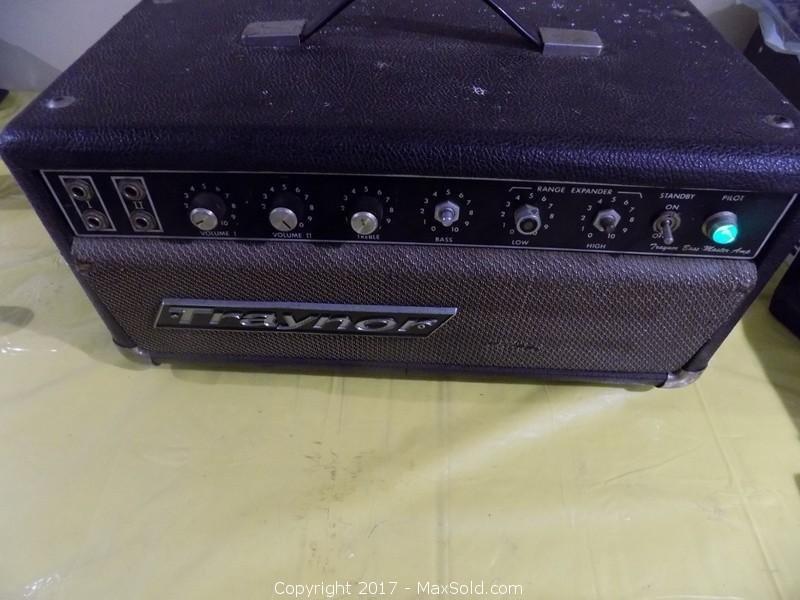 Traynor Bass Amp
