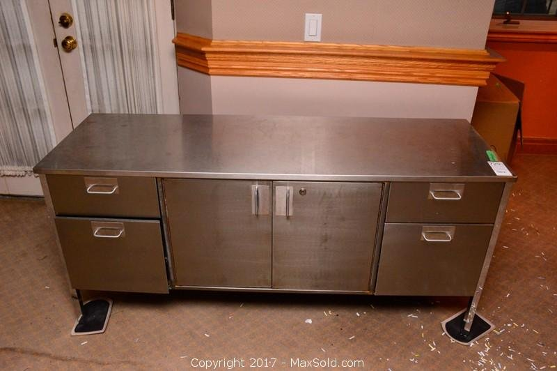 Upcountry Metal Credenza